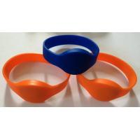 Buy cheap NTAG203 chip NFC soft silicone wristband, NFC intelligent Proximity silicone wristband, NTAG213, NTAG216 wristband from wholesalers