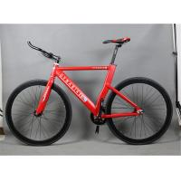 Wholesale Fashion style aluminium alloy 700c fixed gear bike/bicicle with 560mm frame height from china suppliers