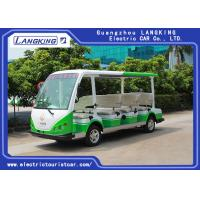 Buy cheap 4 Wheel Electric Sightseeing Car , 11 Seats Electric Passenger Vehicle With small cargo 72V/7.5KW AC MOTOR from wholesalers