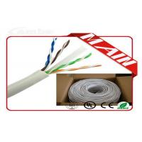 CCTV System White Ethernet Cable , 24 AWG Bare Copper Cat6 Ethernet Cable 1000 Ft Manufactures