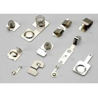 Buy cheap Contact Part Metal Stamping Components Used In Electical Ecuipment OEM / ODM from wholesalers