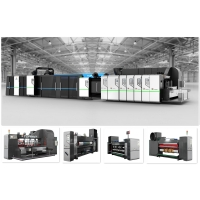Buy cheap Full Computerized Control Automatic Carton Folding Gluing Machine Case Maker 200 Sheet/Min from wholesalers