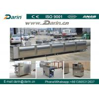 Buy cheap Stainless Steel Cereal Bar Making Machine , Snack Cutting Machines For  Sesame Bar from wholesalers
