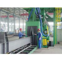China Auto H-beam Production Line , Steel Plate Shot-blasting Machine on sale