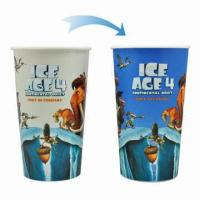 Buy cheap Creative plastic color-changing cups, FDA/ Approved, Food Grade from wholesalers
