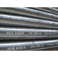 Buy cheap ASTM A333 GR1,GR 3,GR 6-Seamless Pipe for Low-Temperature Service from wholesalers