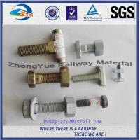 Buy cheap High Tensile Strength DHG Black Oxide Railway Bolt And Nuts Grade 8.8 from wholesalers
