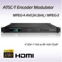 Buy cheap Four-Channel HD-SDI TO ATSC MPEG-2/H.264 Encoding Modulator REM7004 from wholesalers