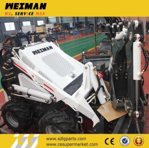 hy380 skid steer loader with digger,trencher,fork,auger Manufactures
