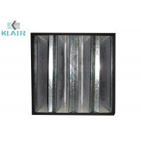 Buy cheap V Bank Activated Charcoal Filter , High Capacity Carbon Odor Filter Class 2 from wholesalers
