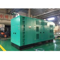 Buy cheap Industrial 625KVA Quiet 3 Phase Diesel Generator Water Cooled Type from wholesalers