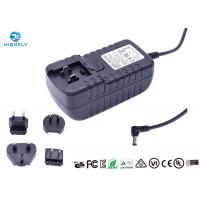 Buy cheap UK US EU AU Interchangeable Plugs Power Adapter 12V 3A for LED Light from wholesalers