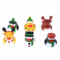 Buy cheap Floating Christmas Miniature Rubber Ducks Ornament Eco - Friendly PVC Toy from wholesalers