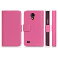 Buy cheap For Samsung Galaxy Leather Case, i9190 Galaxy S4 Mini Stand Cover from wholesalers