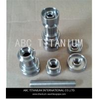 Buy cheap universal domeless titanium nail with GR2 14mm/18mm from wholesalers