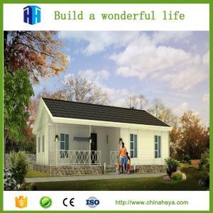 Prefab steel structure cottage modern steel house building kit Manufactures