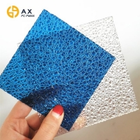 Buy cheap Soundproof Flexible 2mm Embossed Polycarbonate Sheet from wholesalers