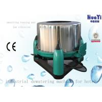 Buy cheap Fully Auto Industrial Dehydration Equipment , Laundry Extractor Machine from wholesalers