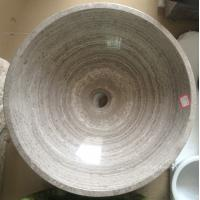 Wholesale Natural White Serpeggiante Stone Basin from china suppliers