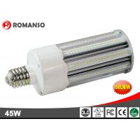 High Performance Outdoor E27 Led Corn Light Bulb With 150lm/W Efficiency , Waterproof Manufactures