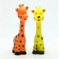Buy cheap Giraffe Customized pet chew toy vinyl toys for dogs from wholesalers