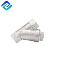 Buy cheap Natural Hexagon Plug Hexagon Inline Natural Gas Y Strainer Stainless Steel DN40 from wholesalers