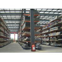 Buy cheap Factory Price Steel Structural Cantilever Racks for Pipes Lumber Sheet Racks from wholesalers