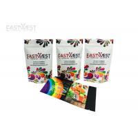Buy cheap Resealable Digital Printed Stand Up Pouches , Foil Stand Up Zipper Bags For Smaller Runs from wholesalers