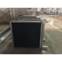 Buy cheap Customized Size Sprial Fin Air Heat Exchanger Machine For Pharmaceutical Industry product