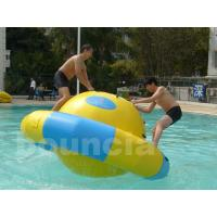 Buy cheap Kids And Adults Inflatable Saturn Rocker Used In Hotel Or Pool from wholesalers
