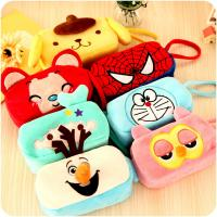 Buy cheap Frozen Olaf Cartoon Plush Pencil Pouch , Animal Zipper Pencil Pouch from wholesalers