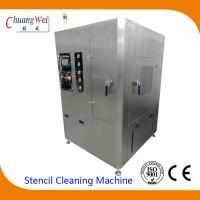 Unique Double Four Spray Bar Cleaning System smt stencil cleaner with 2PCS 50L tanks Manufactures