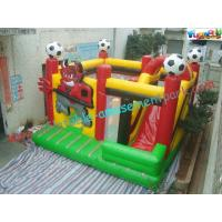 China Custom Football Inflatable Combo In One , Bull Combo Units With Affordable Price on sale