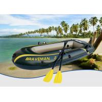 Buy cheap Dark Green Braveman Durable Inflatable Boat , Convenient Lightweight Inflatable Boat from wholesalers