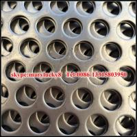 Buy cheap perforated sheet/perforated metal sheet/round hole perforated metal from wholesalers