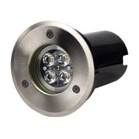 Buy cheap In Ground Lights 6 Watt  Stainless Steel with Black Polycarbonate Sleeve from wholesalers