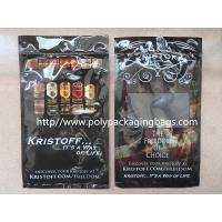 Buy cheap 0.08mm OPP Laminated Cigar Humidor Bags With Humidified System Inside Sponge product