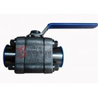 Buy cheap Reduced Bore Soft Seated Ball Valve F316L , 800LB Small Forged Ball Valve from wholesalers