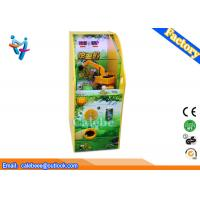 Buy cheap Excavator game vending kids game machines yellow coin pusher from wholesalers