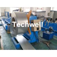 Buy cheap Hydraulic Or Automatic Decoiler Machine With Automatically Uncoiling , Hydraulic Expanding , Tension from wholesalers