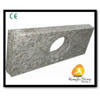 Wholesale Xiamen Kungfu Stone Ltd supply River White Granite Countertops  In High quality and cheap price from china suppliers