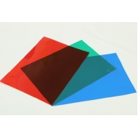 Buy cheap PET Liner Red Green Acrylic Overlay Film from wholesalers