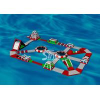 Buy cheap 30x20m Custom Design Adults Giant Inflatable Water Park For Floating On Sea Beach Or Open Water product