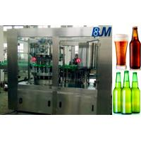 Buy cheap Wine / Alcohol / Liquor Beer Bottle Rinsing Filling Capping Machine from wholesalers