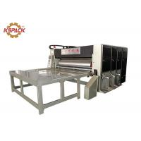 Buy cheap Feed 2 Color Corrugated Box Printing Machine , Corrugated Slotter Flexo Printing Machine from wholesalers