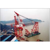 Buy cheap Panama,Peru,Philippines floating crane sell charter supply crane barge 100T TO 5000T from wholesalers
