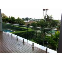 Buy cheap stainless steel 316 square spigot for 12mm glass deck railing from wholesalers