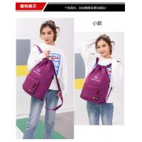 Buy cheap Polyester Sports Waterproof Drawstring Bag Customized Color 37 * 47CM from wholesalers