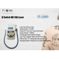 Buy cheap 2018 best portable Q Switch ND yag laser for  tattoo removal skin rejuvenation machine from wholesalers