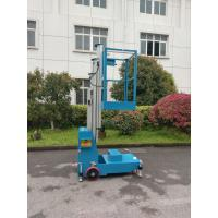 Buy cheap 4m Portable Platform Height Electric Aerial One Man Lift single man lift from wholesalers